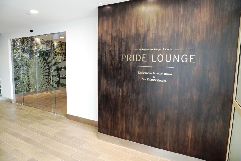 Kenya Airways Pride Lounge