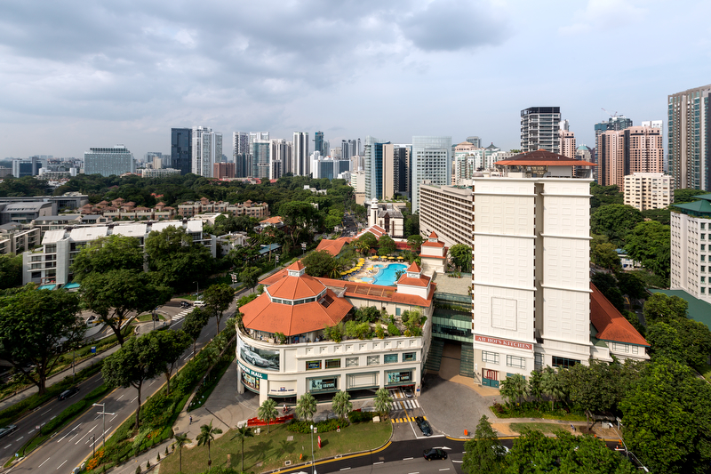 Exterior Hotel Jen Singapore