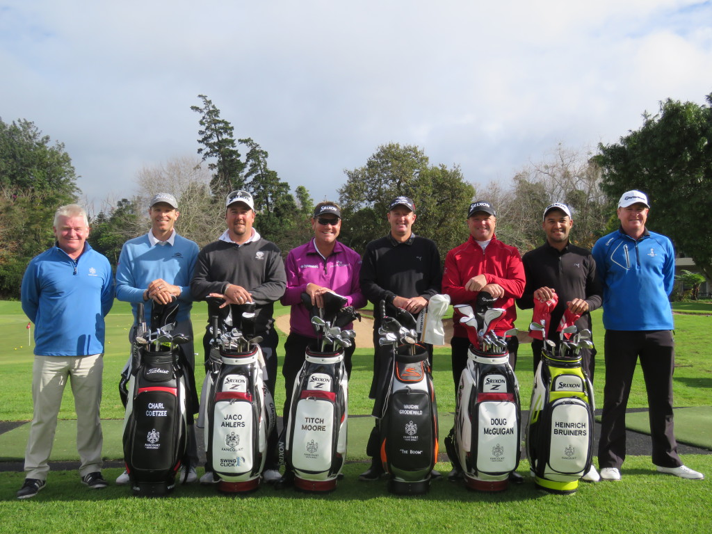 Fancourt Golf Associated Tour Professionals Clinic with LM and HG